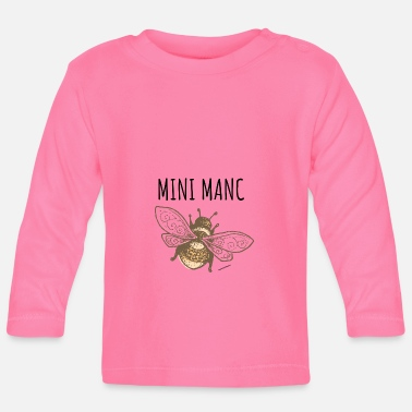 LITTLE MANC BEE - Baby Longsleeve Shirt