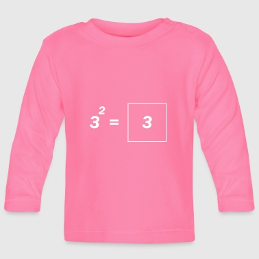 Quadrat Math genius - Baby Long Sleeve T-Shirt