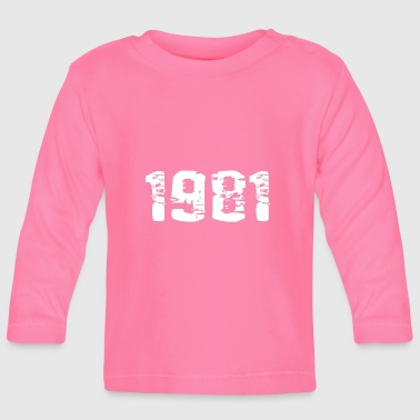 Year of birth - Baby Long Sleeve T-Shirt