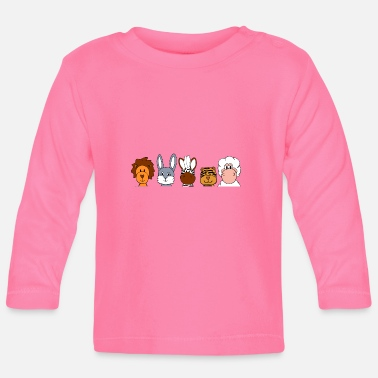 Animal animal funny group - Baby Long Sleeve T-Shirt