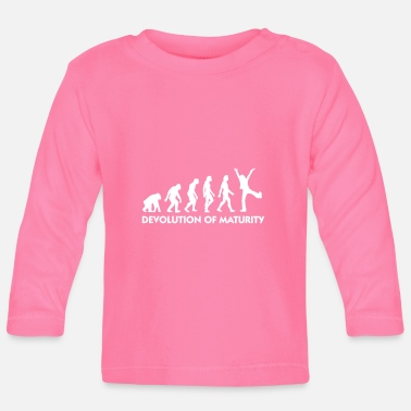 Mature The Evolution Of Maturity - Baby Longsleeve Shirt