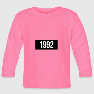 1992 1992 - Baby Long Sleeve T-Shirt