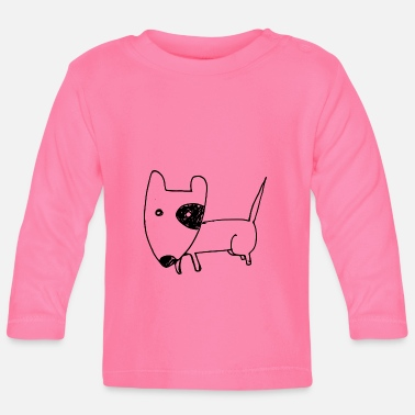 Dog cute - Baby Long Sleeve T-Shirt