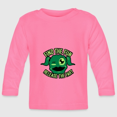 Jokey #GirlsOnly: Find The Fun - Release the Speed - Baby Long Sleeve T-Shirt