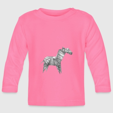origami paper plane paper airplane38 - Baby Long Sleeve T-Shirt