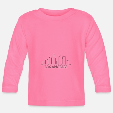 Los Angeles skyline - Baby Longsleeve Shirt