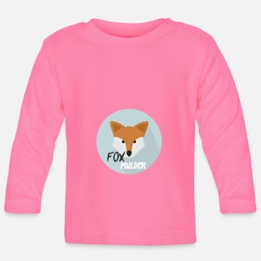 Officialbrands Fox Mulder T-Shirt - Langærmet babyshirt