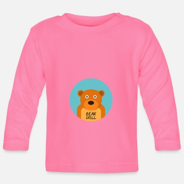 Officialbrands Bear Grill T-Shirt - Baby Long Sleeve T-Shirt