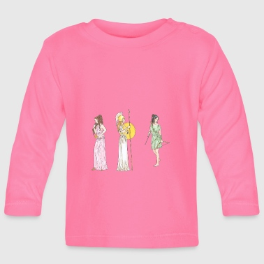 Ancient women - Baby Long Sleeve T-Shirt
