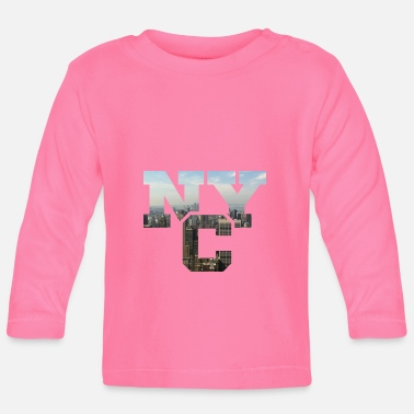 Nyc NYC - Baby Long Sleeve T-Shirt