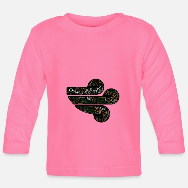 Travelling Travel - Travel - Baby Long Sleeve T-Shirt
