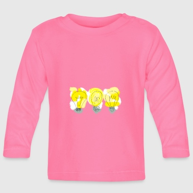 Licht, light, light, light bulb - Baby Long Sleeve T-Shirt