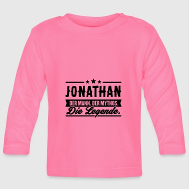 Man Myth Legend Jonathan - Baby Long Sleeve T-Shirt