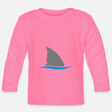 Shark Fin Shark fin - Baby Long Sleeve T-Shirt