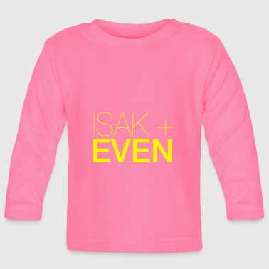 Isaac IACS + EVEN - Baby Long Sleeve T-Shirt