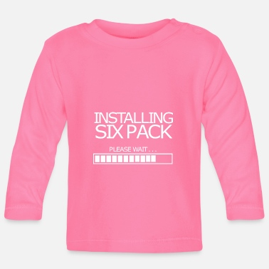 Installation Installation Sixpack - T-shirt manches longues Bébé