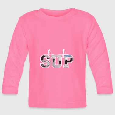 SUP together - whitewater Edition - Baby Long Sleeve T-Shirt