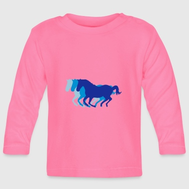 Drie paarden in galop - T-shirt