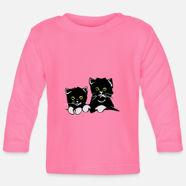 Pussy Pussies - Baby Long Sleeve T-Shirt