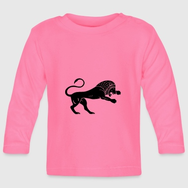 Ancient lion - Baby Long Sleeve T-Shirt