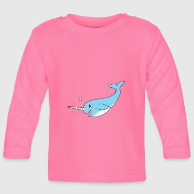 narwhal - Baby Long Sleeve T-Shirt