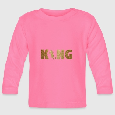 KING Soccer! Soccer! Ball! Present! - Baby Long Sleeve T-Shirt