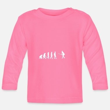 Cricket EVOLUTION cricket cricket thorball - Baby Long Sleeve T-Shirt
