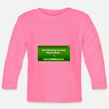 Download downloading - Baby Long Sleeve T-Shirt