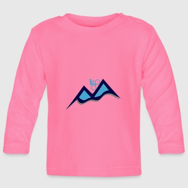 Mountain bike - mountain bike - Baby Long Sleeve T-Shirt