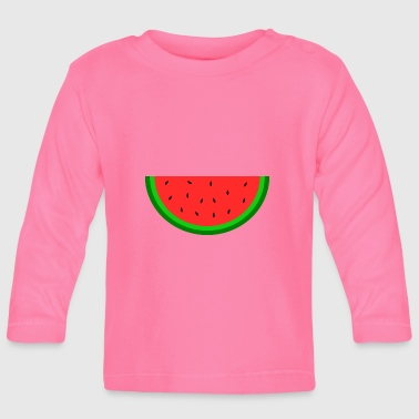 Melone sommer melone melone - Baby Langarmshirt