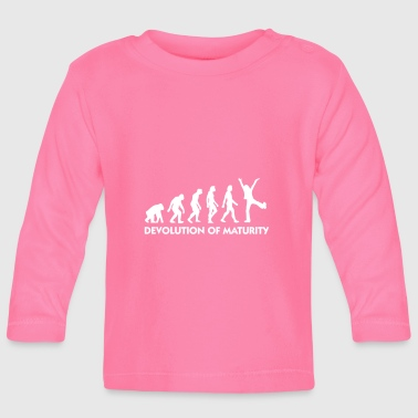 The Evolution Of Maturity - Baby Long Sleeve T-Shirt