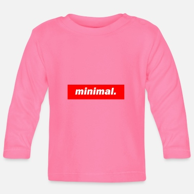 Minimum techno mischpult basse rouge bpm minimum - T-shirt manches longues Bébé