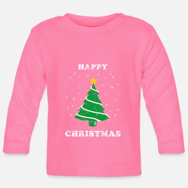 Happy Christmas Christmas Happy Christmas - Långärmad baby T-shirt