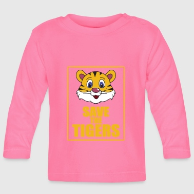 Save the Tigers - Save the Tiger - Baby Long Sleeve T-Shirt