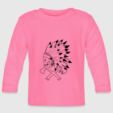 Native American Indian - Baby Long Sleeve T-Shirt