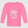I never dreamed i would be soccer mom - Baby Long Sleeve T-Shirt