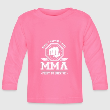Mixed Martial Arts MMA Fight to survive - T-shirt manches longues Bébé