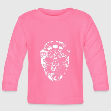 skull, death head, metal - Baby Long Sleeve T-Shirt
