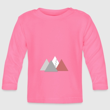 Mountains; mountains - Baby Long Sleeve T-Shirt