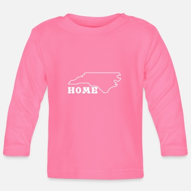 North Humberside North Carolina Home Shirt - Baby Longsleeve Shirt