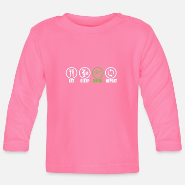 Cycling cycle - Baby Longsleeve Shirt