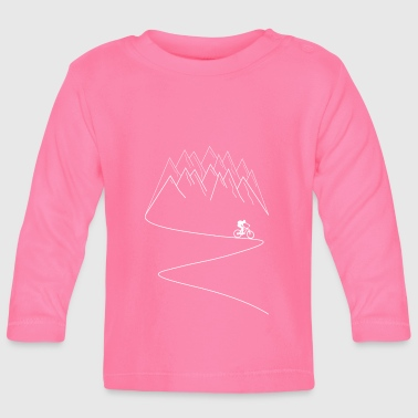 MTB mountain bike mountain biking - Baby Long Sleeve T-Shirt