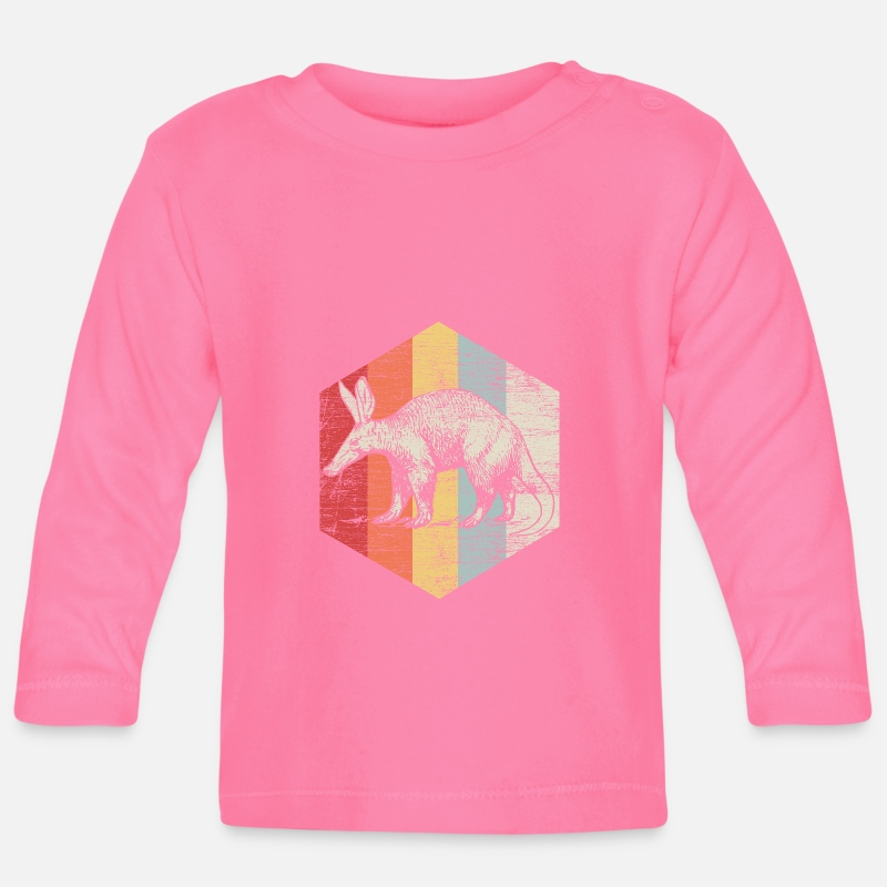 South America Baby Clothes - Anteater ant bear south america animal gift - Baby Longsleeve Shirt azalea