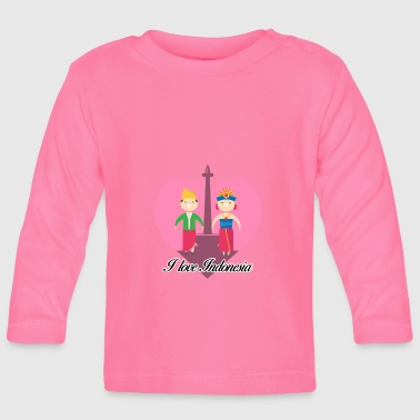 Indonesia Indonesia - Baby Long Sleeve T-Shirt