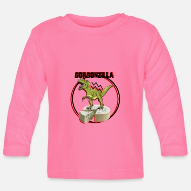 Officialbrands GORGONZILLA T-Shirt - Baby Long Sleeve T-Shirt