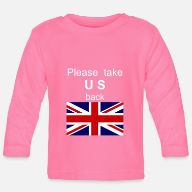 Commonwealth Day Neem alstublieft US Commonwealth UK mee - Baby longsleeve