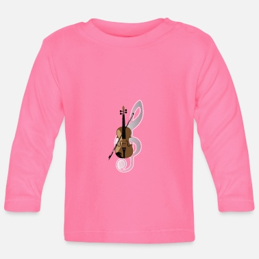 Instrument Violin Musical Instrument - Baby Longsleeve Shirt