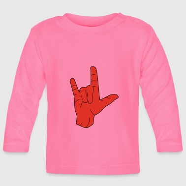 Shop Sign Language Baby Long Sleeve Shirts Online Spreadshirt