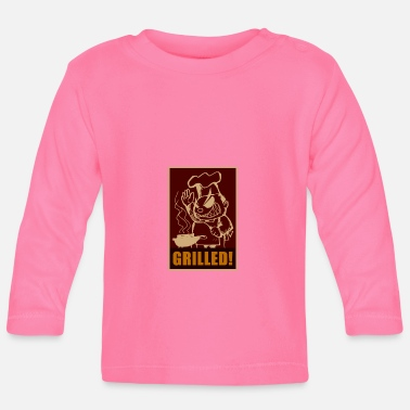 Grillen Grill Grill Grill - Baby Langarmshirt