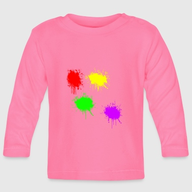 Paintball - Baby Langarmshirt